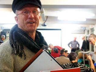 Steve Mathews who led a walk and talk on Invasive Species