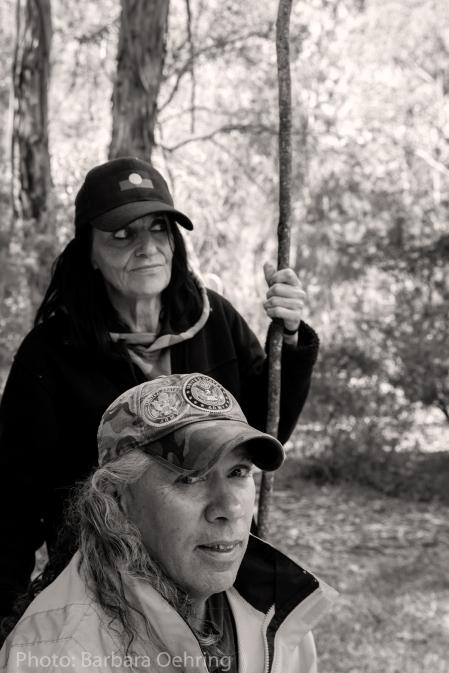 Judy Nicholson and James Simons