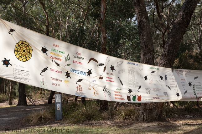 Aboriginal history timeline displayign key events and policy achievements in Aboriginal History